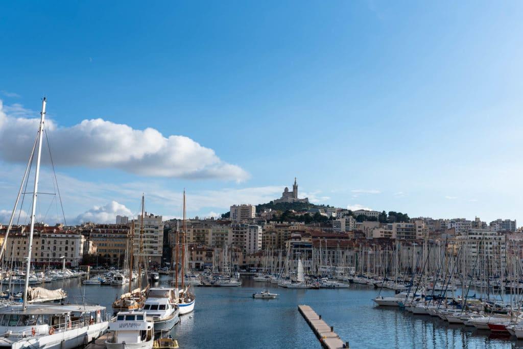Marseille depuis la mairie centrale