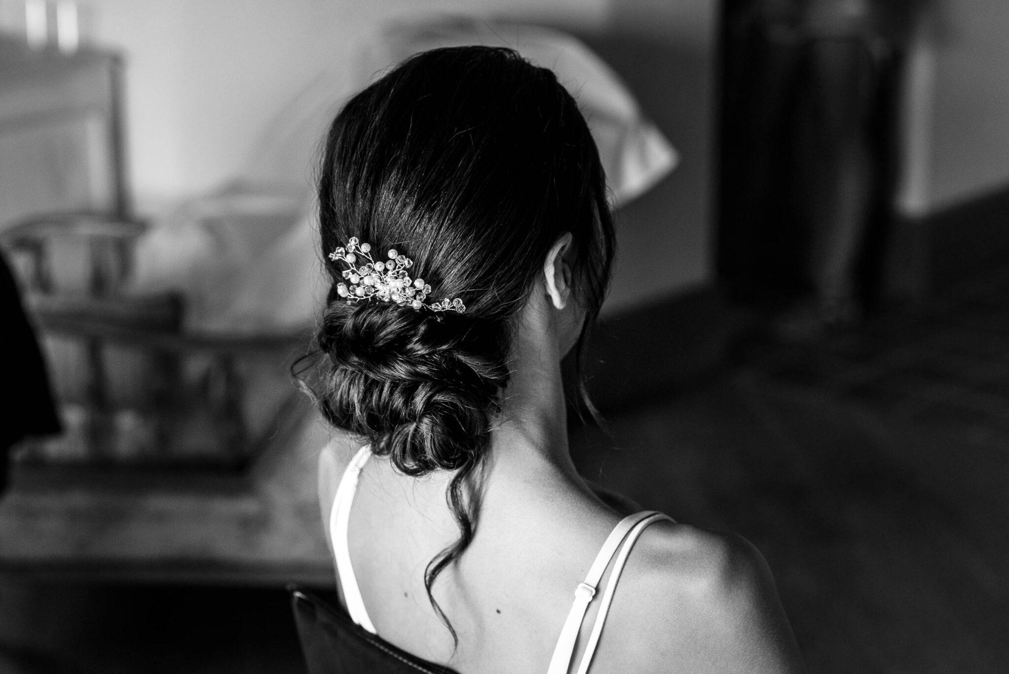 Bridal bun